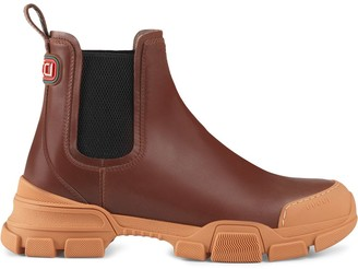 Gucci chunky sole Chelsea boots