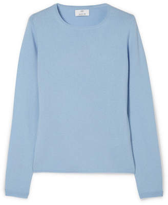 Allude Cashmere Sweater - Light blue