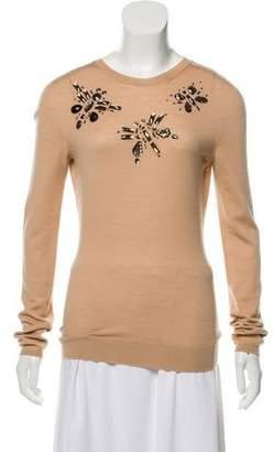 Lanvin Embellished Knit Top