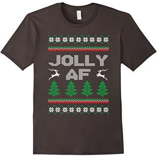 Abercrombie & Fitch Jolly Christmas T-Shirt Funny Christmas Gift Xmas Tee