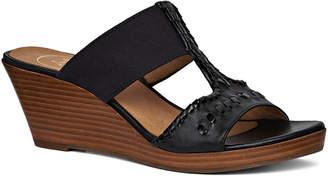 Jack Rogers Nora Wedge Leather Sandal