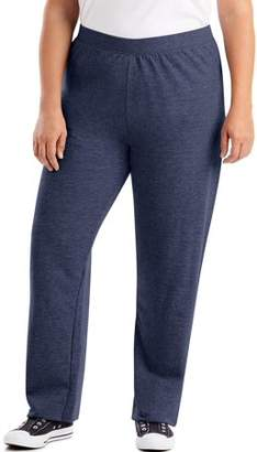 Just My Size Women's Plus-Size Fleece Petite Sweatpant