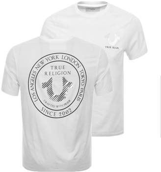 True Religion Crafted With Pride T Shirt White