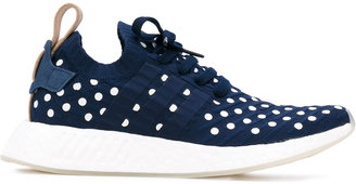 Adidas NMD_R2 Primeknit trainers $172.55 thestylecure.com