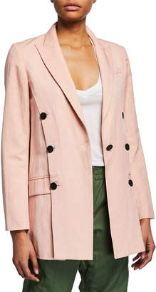 Derek Lam 10 Crosby Oversized Double-Breasted Blazer