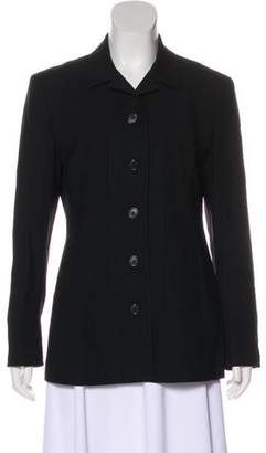DKNY Structured Wool Blazer