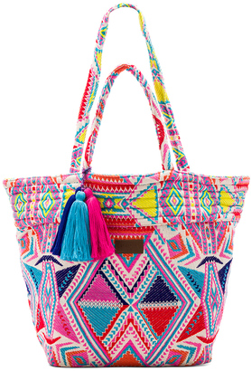 Seafolly Carried Away Oversized Tote $122 thestylecure.com