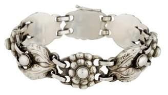 Georg Jensen Floral Link Bracelet