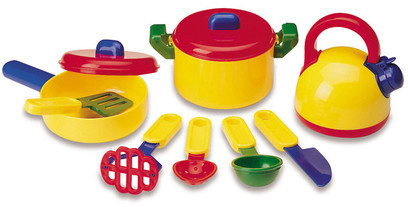 Learning Resources 10 Piece Pretend and Play Cooking Set