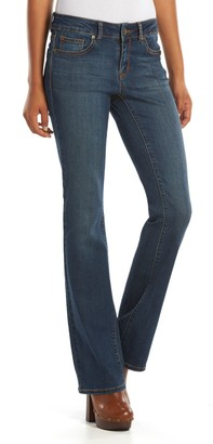 Juniors' SO Perfectly Soft Embroidered Bootcut Jeans