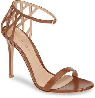 b4fb29a49d8 Gianvito Rossi Brown Strap Women s Sandals - ShopStyle