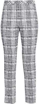 Rosetta Getty Cotton-blend Tweed Skinny Pants