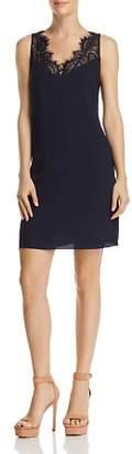 Aqua Lace-Trim Shift Dress - 100% Exclusive
