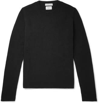 Bottega Veneta Slim-fit Cashmere Sweater - Black