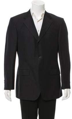 Cerruti Linen-Wool Blend Pinstripe Two-Piece Suit