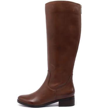 Diana ferrari Ambree Tan Boots Womens Shoes Casual Long Boots