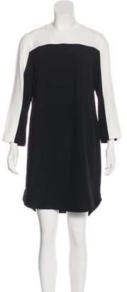 Akris Punto Long Sleeve Mini Dress