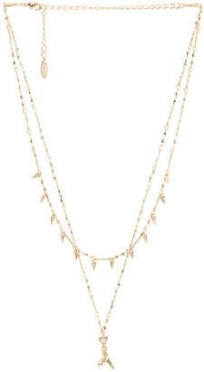 Ettika Layered Shark Tooth Necklace