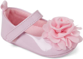 Baby Essentials Stepping Stones (Infant Girls) Pink Flower Mary Jane Flats