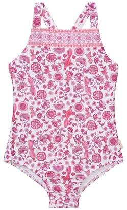Seafolly Girls Toddler Bohemian Jardin One Piece