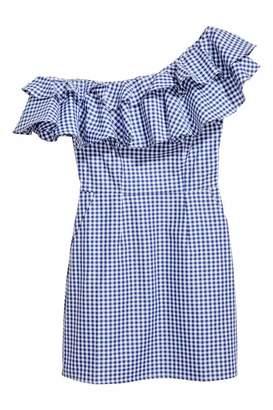 H&M Short Flounced Dress