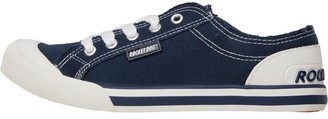 Rocket Dog Womens 8A Canvas Jazzin Pumps Navy