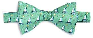 Vineyard Vines 20th Anniversary Sailboat Silk Bow Tie