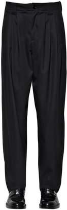 Dolce & Gabbana Loose Cotton Blend Pants