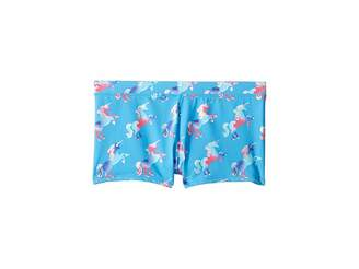 Hatley Rainbow Unicorns Swim Shorts (Toddler/Little Kids/Big Kids)