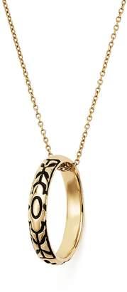 Iconery x Stone Fox Bride 14K Yellow Gold Skull Pendant Necklace, 16