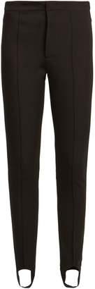 Moncler Stirrup-cuff jersey ski trousers