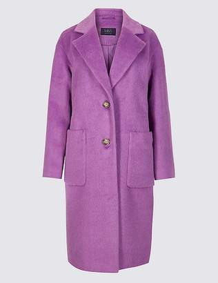 Marks and Spencer Single Breasted Coat