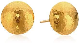 """Gurhan Lentil"""" 24k Stud Earrings"""
