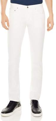 Sandro Pixies Slim Fit Jeans in White
