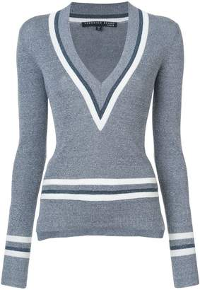Veronica Beard Walton V-neck sweater