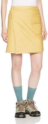 Mizuno (ミズノ) - (ミズノ)MIZUNO ブレスサーモリバーシブルウォーマースカート [ウィメンズ] A2JF5722 44 ヨークイエロー M-L