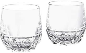 Ralph Lauren Home Monroe Crystal DOF Glasses - Set of 2