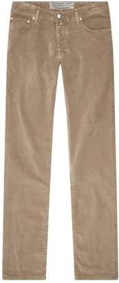 Jacob Cohen Slim Corduroy Trousers