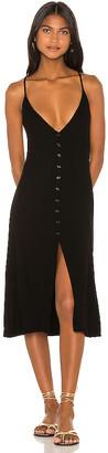 Michael Lauren Sailor Midi Dress