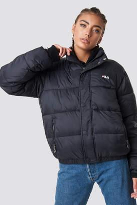 Fila Raya Puff Jacket Black