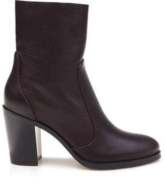 Roselyn Stacked Heel Sock Boot