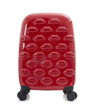 Lulu Guinness Small Lips Hardside Spinner Cabin Case Colour: RED, Size