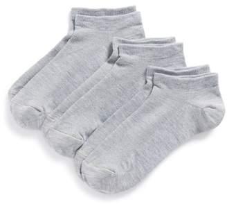 Zella 'Fitness' Liner Socks - Pack of 3