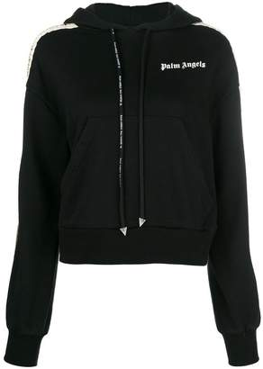 Palm Angels side stripe hoodie