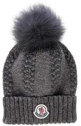 e39640b7575ac Moncler Wool Hat - ShopStyle
