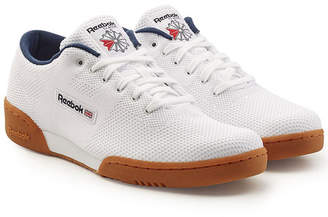 Reebok Workout Clean Sneakers with Mesh