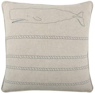 Thomas Paul Scrimshaw Whale/Rope Flax - Indigo