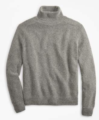 Brooks Brothers Alpaca-Blend Turtleneck Sweater