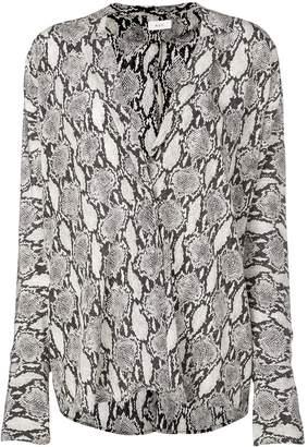 A.L.C. snakeskin effect shirt