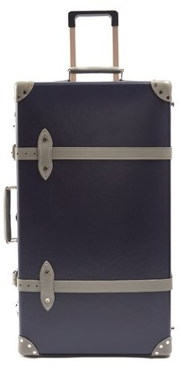 Globe-trotter Globe Trotter X Matchesfashion.com Centenary 30 Suitcase - Mens - Navy Multi